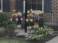 ご近所、秋のデコレーション - ののち幾星霜