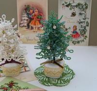 ビーズでつくるクリスマスツリー - Tea Time