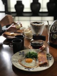 「朝の三たて」 - 東京ベランダ通信