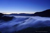 枝折峠 Before dawn - デジタルで見ていた風景