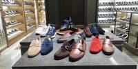 Santoniがいっぱい - シューケアマイスター靴磨き工房 銀座三越店