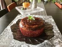 アップルシナモンレッスンと焼肉 - カフェ気分なパン教室  *・゜゚・*ローズのマリ