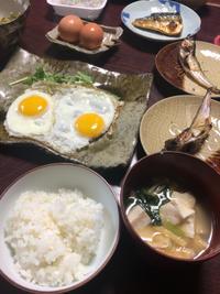 目玉焼き - 庶民のショボい食卓