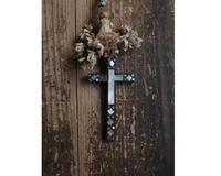 十字架螺鈿 ロザリオ69cm/G471 - Glicinia 古道具店