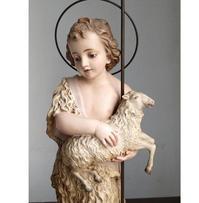 幼い洗礼者ヨハネと神の子羊 /G528 - Glicinia 古道具店