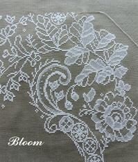 グレーのリネンに・・・続き - Bloom のんびり日記