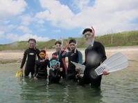 ご家族で賑やかに~~大度海岸(ジョン万ビーチ)シュノーケリング~ - 大度海岸(ジョン万ビーチ・大度浜海岸)と糸満でのシュノーケリング・ダイビングなら「海の遊び処 なかゆくい」