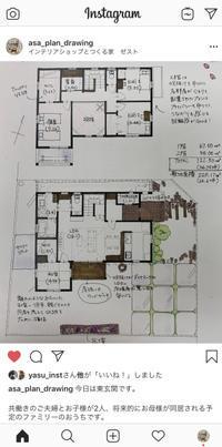 手描きプラン集を発信! - カフェスタイルの家づくり~Asako's WORK & LIFE