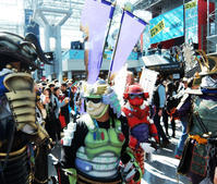 NYCC2019、日本の鎧姿のサムライ軍団に遭遇 - ニューヨークの遊び方