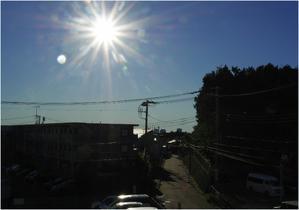 朝の光が・・・ - 湘南の光に