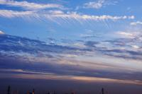 肋骨雲(巻雲) - 日々の風景