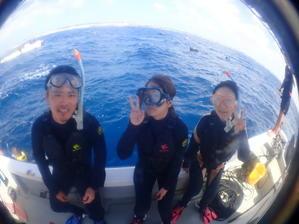 10月13日やっと出たボート・・・ - 沖縄・恩納村のダイビング・青の洞窟体験ダイビング・スノーケルご紹介