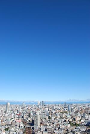 台風一過 - 熱田観測所