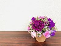 大人色アレンジ☆ - Flower Days ~yucco*のフラワーレッスン&プリザーブドフラワー~