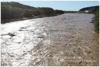 相模川の状況 - 明日には明日の風が吹く
