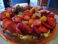 甘いイチゴのトルタ (Torta con le fragole) - エミリアからの便り