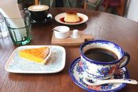 栗かぼちゃのタルト:cafe kielo(田舎館村) - 津軽ジェンヌのcafe日記