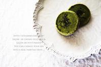 抹茶とローズマリーのサブレ。 - mama's cafe & mama's table