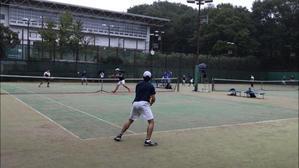 リーグ戦第2戦 VS東京薬科大学 - 東京電機大学理工学部硬式庭球部