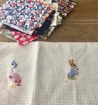 ●英国の小さなブックフェア2019準備中です⑥クロスステッチ刺繍Shinshiaさん - 英国古物店 PISKEY VINTAGE/ピスキーヴィンテージのあれこれ