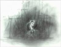 《【アーカイブス55】『ヤマセミの渓から――― ある谷の記憶と追想》 - 画室『游』 croquis・drawing・dessin・sketch