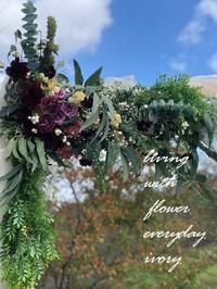 週末の婚礼から〜♬ -  Flower and cafe 花空間 ivory (アイボリー)
