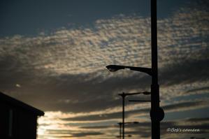 昨日の夕焼け - BobのCamera