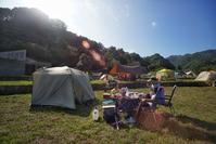 ★キャンプの朝 - 一写入魂