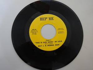 """Ray J. & Norma Jean / """"This is our song """" of love (Hep' Me) sound clip - LOOKIN' FOR SOMETHIN' RARE"""