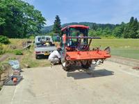 兼業農家はトラクターを格納しました - 浦佐地域づくり協議会のブログ