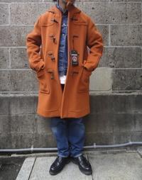 INVERTERE (インバーティア) NEWTON ABBOT LONG DUFFLE COAT オレンジ - セレクトショップ REGULAR (レギュラー仙台) | ブログ