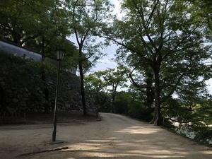 岡山市内ウォ―キング -