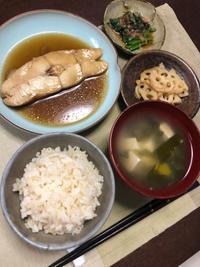 カレイの煮付け - 庶民のショボい食卓