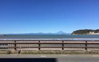 台風一過の逗子海岸より富士を眺む - あんつぁんの風の吹くまま