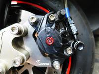 アドレス V125 ブレーキパッド交換 ゴールデンパッド - zesta E style