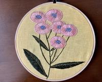 秋の花刺繍 - お針箱と暮らし 123