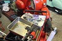 台風の後にどうしましょ - vespa専門店 K.B.SCOOTERS ベスパの修理やらパーツやらツーリングやらあれやこれやと