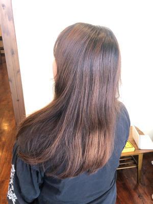 ベージュベースな白髪染め - 観音寺市 美容室 accha