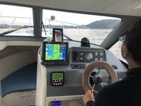 自動操舵の試運転がてら釣りに! - 【たまりん】 の マリーナ奮闘記