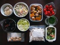 週末の常備菜づくり(191014) - ふたりで暮らす