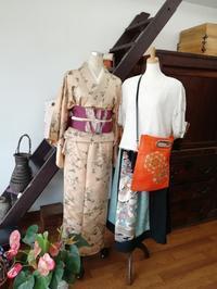 店頭の装い - slow着物のブログ