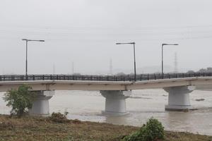 台風19号で破損した「日野橋」を見に行った - 俺の居場所2