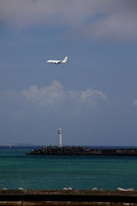 やっぱり真ん中 - 南の島の飛行機日記