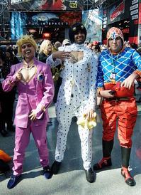 『ジョジョの奇妙な冒険』のディアボロ、ドッピオのそっくりコスプレ - ニューヨークの遊び方