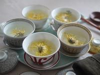 菊の香りに平安を祈る - お茶をどうぞ♪