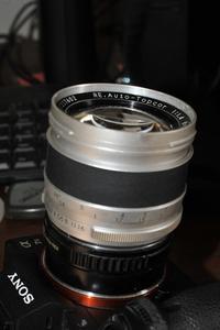 RE オートトプコール 58mm F1.4 で 豊中まで - nakajima akira's photobook