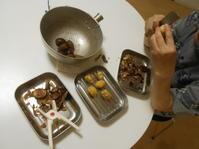 栗を剥く季節になりました。 - のび丸亭の「奥様ごはんですよ」日本ワインと日々の料理