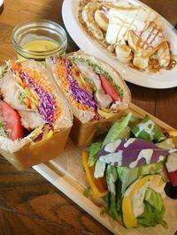 サンドイッチ&パンケーキ - eri-quilt日記3