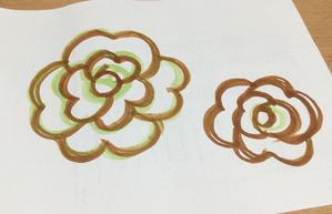 バラモチーフ作り方その3くらい - エジ屋・エジーのアトリエ