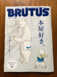 海辺の本棚『BRUTUS2019年11/1号』 - 海の古書店